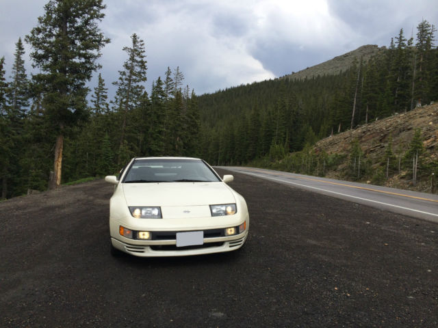 91 nissan 300zx twin turbo 5sp manual pearl white