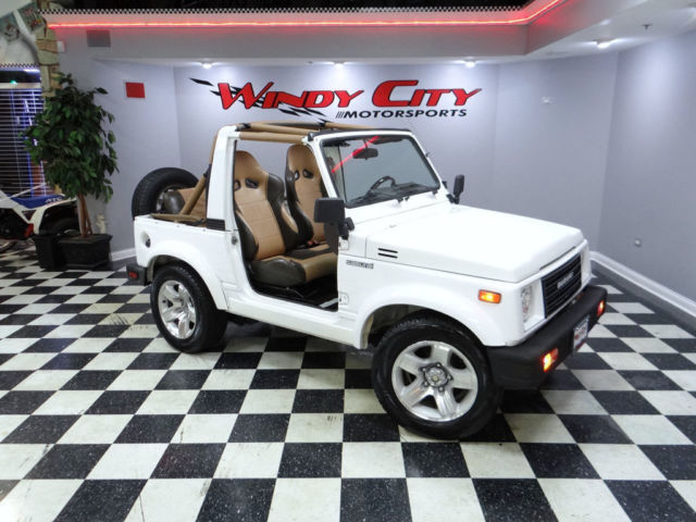 91 suzuki samurai js soft top 5 spd lo miles rust free tx truck custom interior for sale. Black Bedroom Furniture Sets. Home Design Ideas