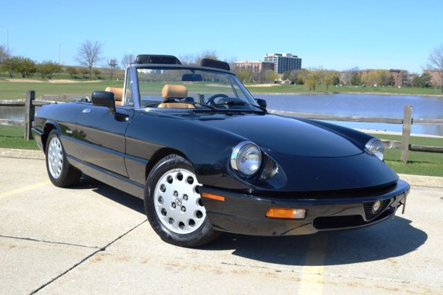 1991 Alfa Romeo Spider 2dr Coupe Ve