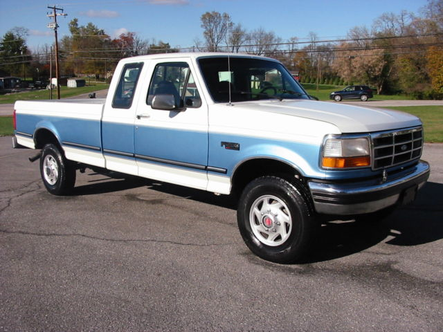 1992 Ford F-250 XLT EXT Longbed