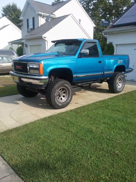 92 gmc sierra 4x4 for sale photos technical specifications description topclassiccarsforsale com