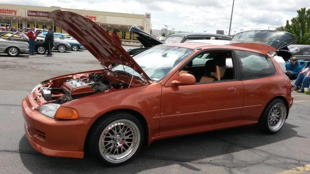 92 Honda Civic Hatchback Gsr Skunk 2 Import