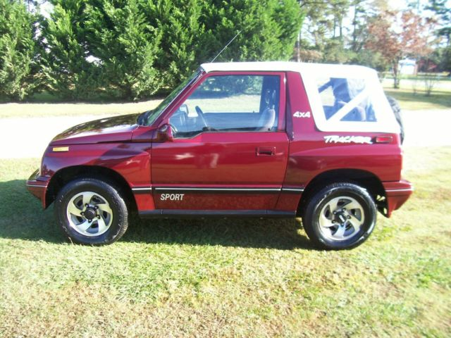 1993 chevy tracker mpg