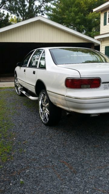 94 chevy caprice 26's for sale: photos, technical