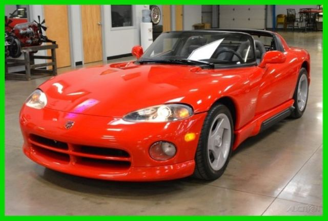 94 dodge viper rt 10 convertible with hardtop 7k miles 8 0l 6 speed manual used for sale photos. Black Bedroom Furniture Sets. Home Design Ideas