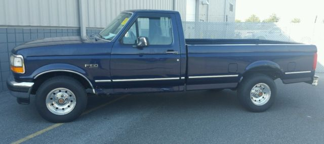 94 F150 4.9L I6 MANUAL TRANS! NO RESERVE! BULLETPROOF ...