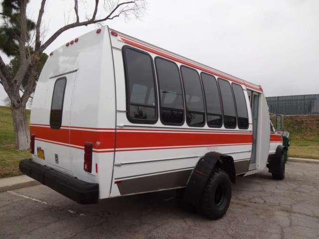 94 Ford E350 Shuttle Bus Sel 7 3 Low 36k Miles 4x4 Rare Truck 22
