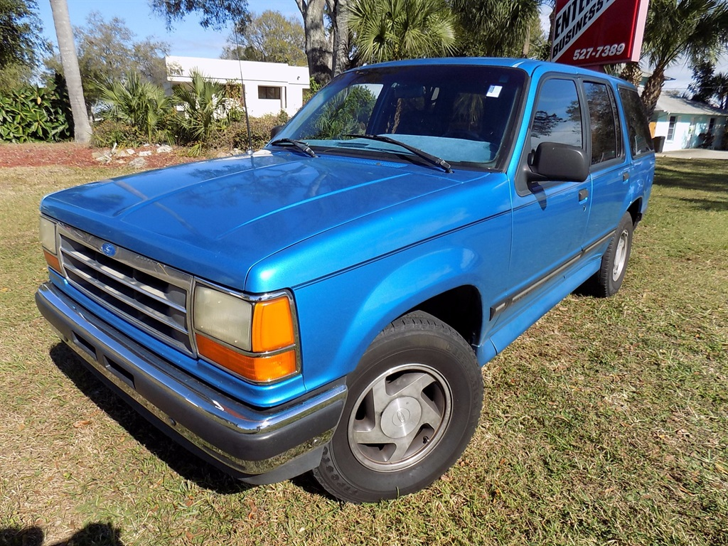 94 ford explorer xl low 86k florida miles clean rust free. Black Bedroom Furniture Sets. Home Design Ideas