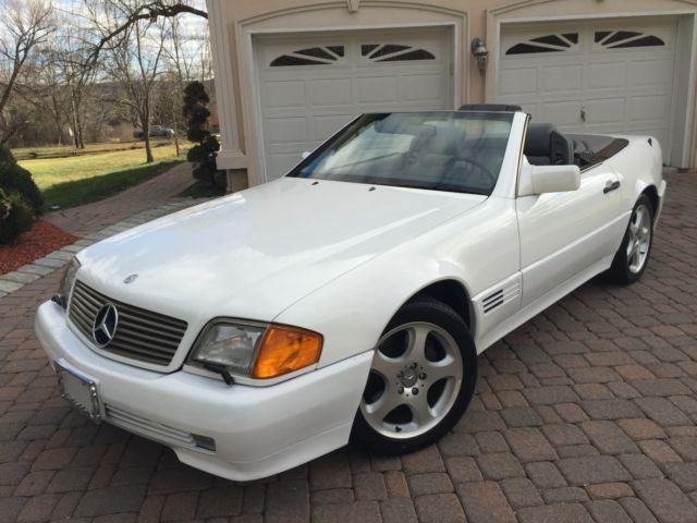 94 MERCEDESBENZ V12 SL600 CLEAN No RUST Florida car 61K hardsoft