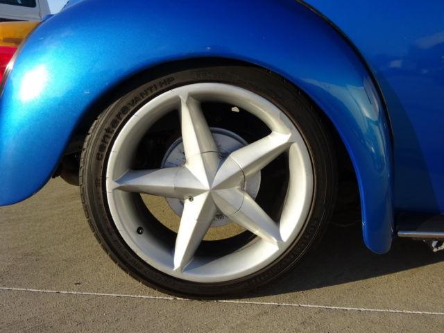 vw beetle classic cyl manual  mlsk custom xenon interior wheels sound  sale
