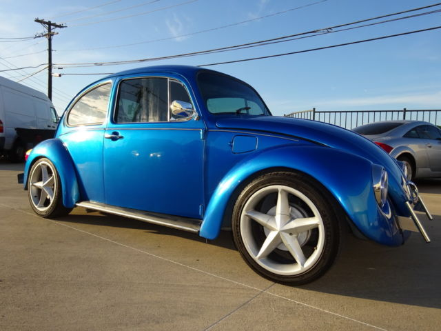 94 VW BEETLE-CLASSIC 4CYL MANUAL LOW MLS:39K CUSTOM XENON INTERIOR WHEELS SOUND for sale: photos ...