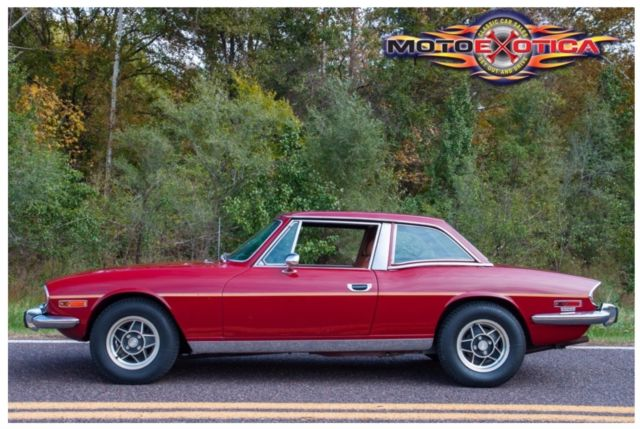 973 Triumph Stag Buick V6 4 Speed Manual Conversion Rust Free Solid