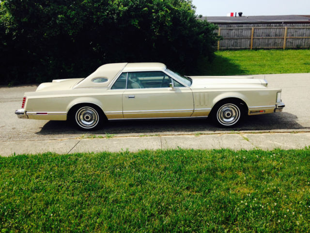 1978 Lincoln Mark Series Cartier