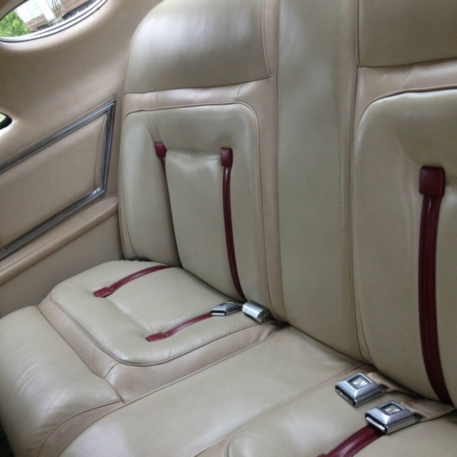 1978 Champagne Lincoln Mark Series Cartier Coupe with Champagne interior