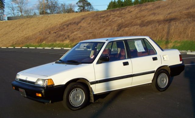 1987 Honda Civic DX AUTO 4 SPEED 75K POWER STEERING LIL CRX SISTER