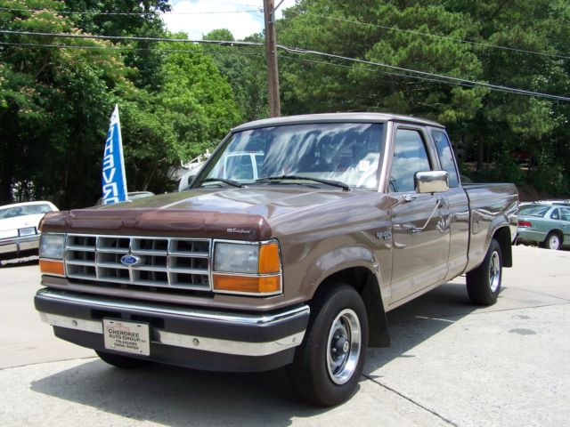 1992 Ford Ranger XLT 1-OWNER A ROCK SOLID ORIGINAL LOW MILE HAULER
