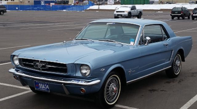 1965 Ford Mustang Coupe, A Code