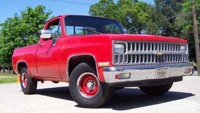 1981 Chevrolet C/K Pickup 1500 C10 6CYL 60 PICS DECENT O'LE BEATER OH HALL YEA!