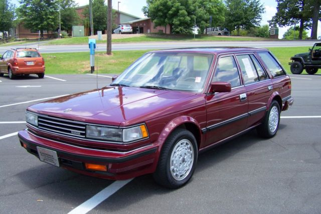 1985 Nissan Maxima GXE 1-OWNER 26K SURVIVOR QUALITY TURN KEY BEAUTY!