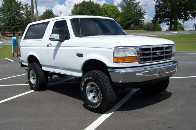 1992 Ford Bronco 1-OWNER 83K CUSTOM XL AWESOME NON XLT EDDIE BAUER