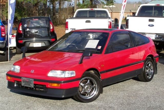 1991 Honda CRX Si-R 44K 5-SPEED AC PANORAMIC ROOF JDM RIGHT HAND DRIVE