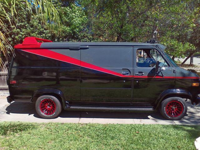 A Team Van Replica 79 GMC Vandura For Sale Photos Technical