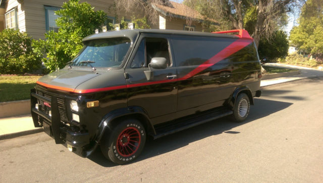 a team van replica chevy g20 for sale photos technical. Black Bedroom Furniture Sets. Home Design Ideas