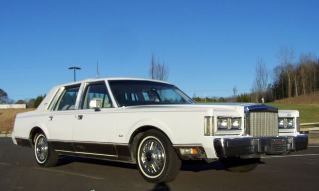 1985 Lincoln Town Car 1-OWNER 56K SUPER NICE CALIFORNIA CAR SEE PHOTOS!!
