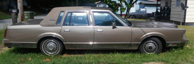 1988 Other Makes LINCOLN TOWN CAR