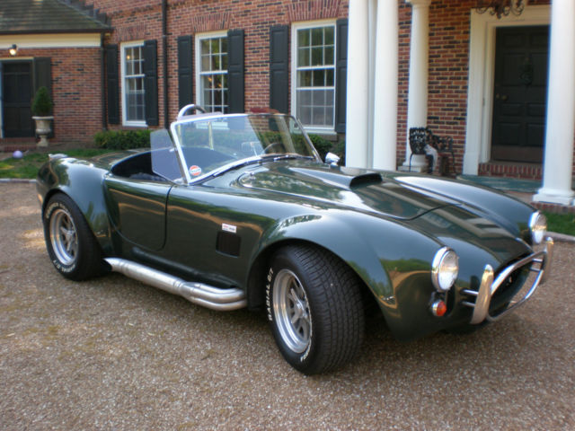 1967 Shelby Cobra Replica Roger Upton Build Faster thn Ferrari