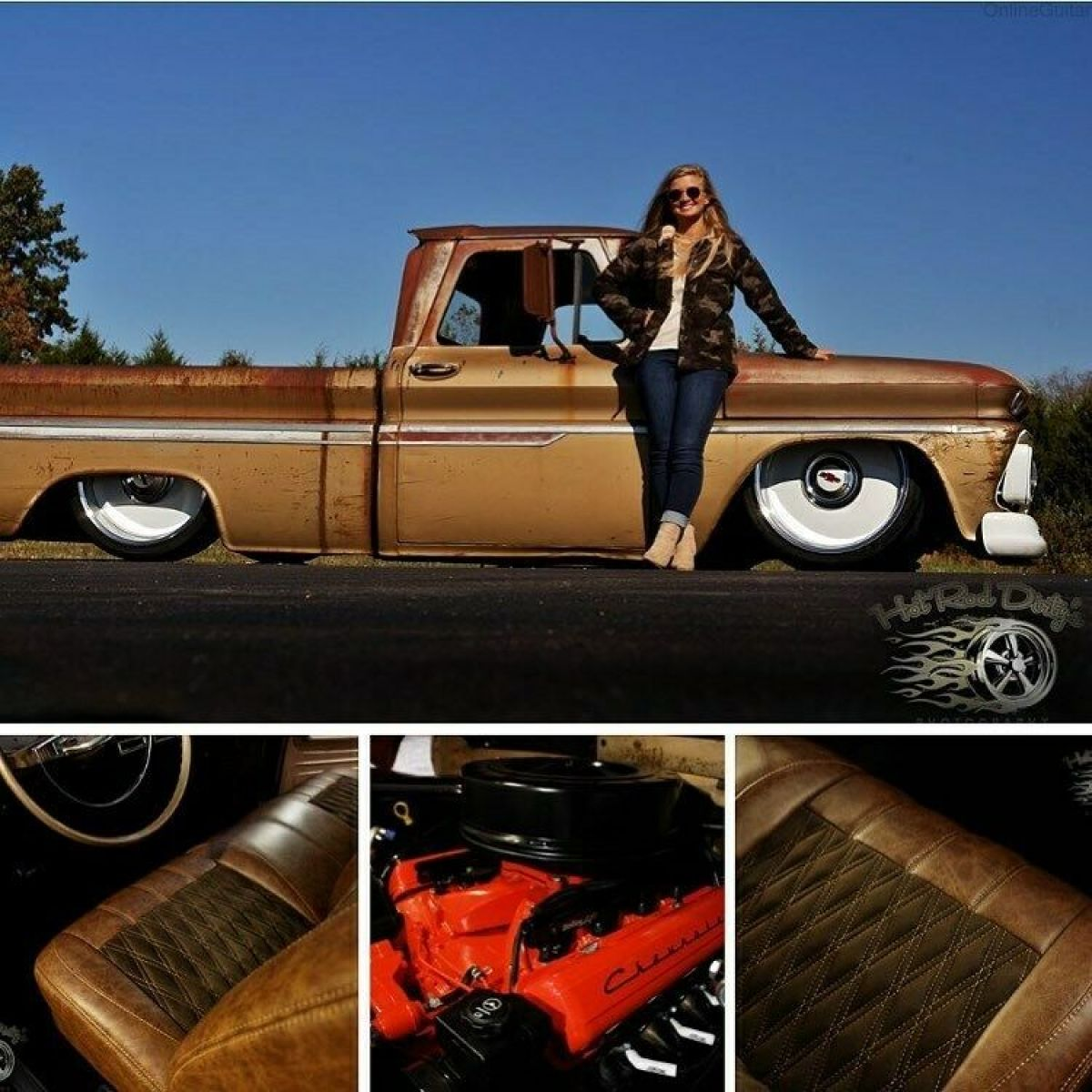 1966 Chevrolet C-10 Hot Rat Rod Chevy Pickup Truck Fleetside LSx