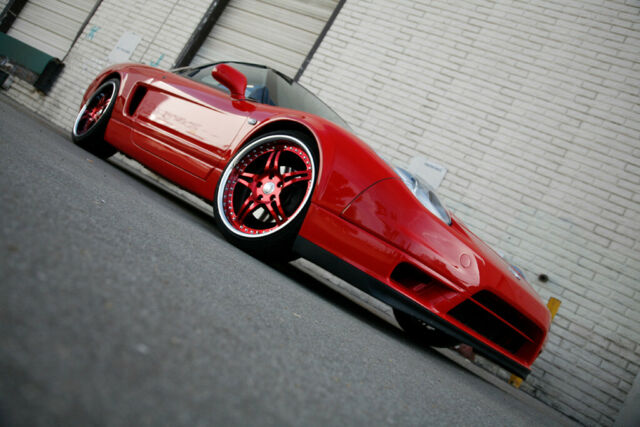 1992 Red Acura NSX with Black interior