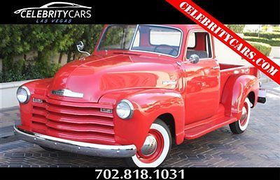 1950 Chevrolet Other Pickups Advance Design 3100 Series