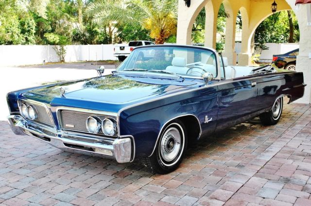1964 Chrysler Imperial Crown Convertible 413 V8 Auto Simply Stunning