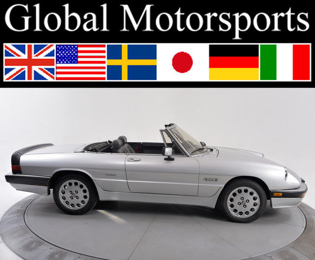 Alfa Quadrifoglio Low Miles With Hardtop Soft Top Tonneau Cover For - Alfa romeo spider hardtop for sale