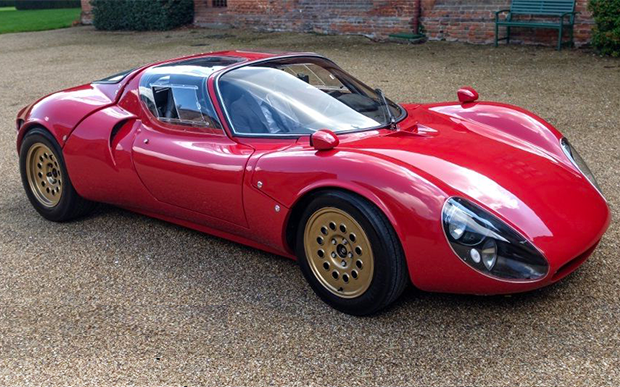 Alfa Romeo 33 Stradale Prototipo Composite Body Set For