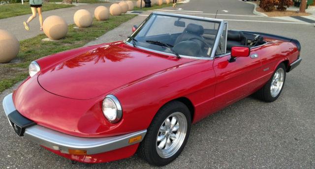 Alfa Romeo Spider Graduate For Sale Photos Technical - Alfa romeo spider 1980 for sale