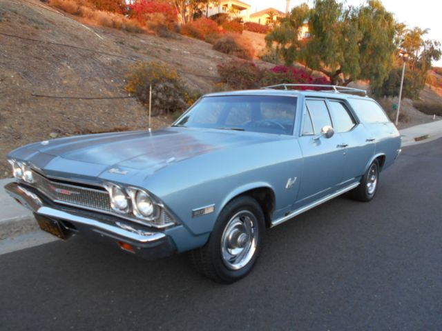1968 Chevrolet Chevelle Wagon Orig.SoCal Owner, All Docs, New Garage Find