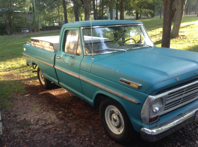 all original 1969 ford f100 pickup truck for sale photos. Black Bedroom Furniture Sets. Home Design Ideas
