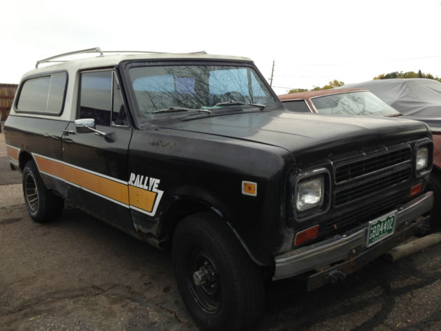 1980 International Harvester Scout traveller