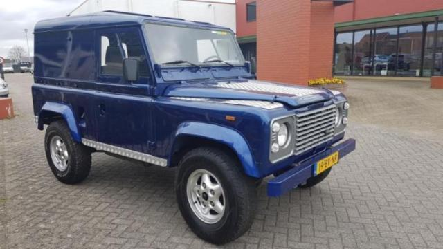 1987 Land Rover Defender 90 lovely blue paint LHD