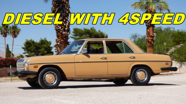 1976 Mercedes-Benz 200-Series 240D, 220D, 300D,