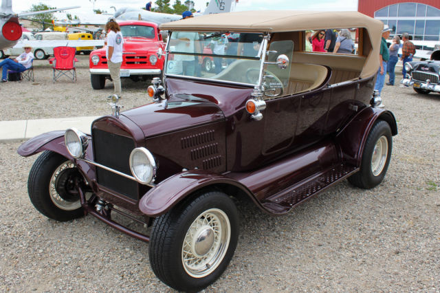 1932 Ford Model T 3-Door Touring (Phaeton) Street Rod - All Steel!