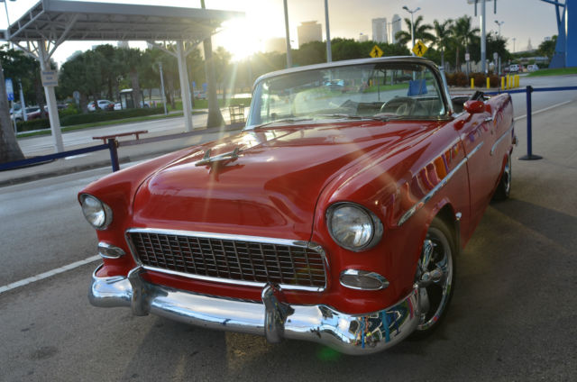1955 Chevrolet Bel Air/150/210 1955 Convertible Restomod SEE VIDEO