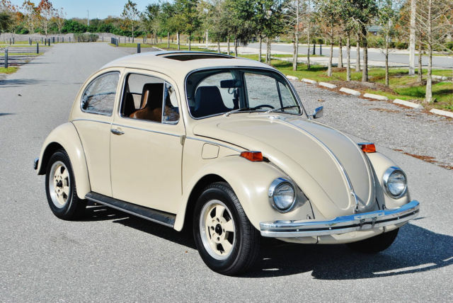 amazing 1970 vw beetle california one owner car sunroof original paint low miles for sale. Black Bedroom Furniture Sets. Home Design Ideas