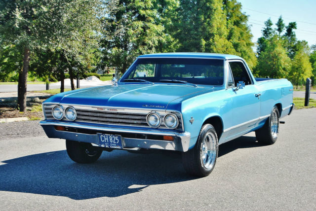 1967 Chevrolet El Camino nicely restored great driver must be seen.
