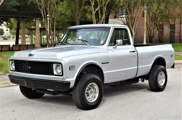 1972 Chevrolet C10 Push Button 4x4 Restomod