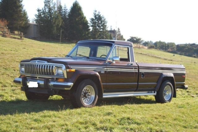 AMC Jeep J20 Pickup Truck 4x4 3/4 Ton for sale: photos