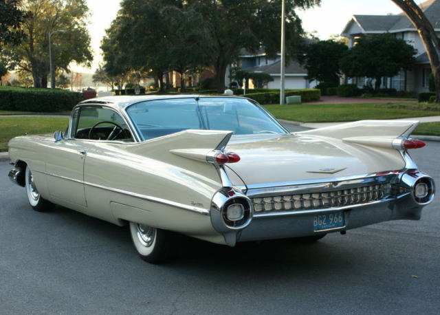 1959 Cadillac DeVille COUPE - LONG TERM STORED - A/C
