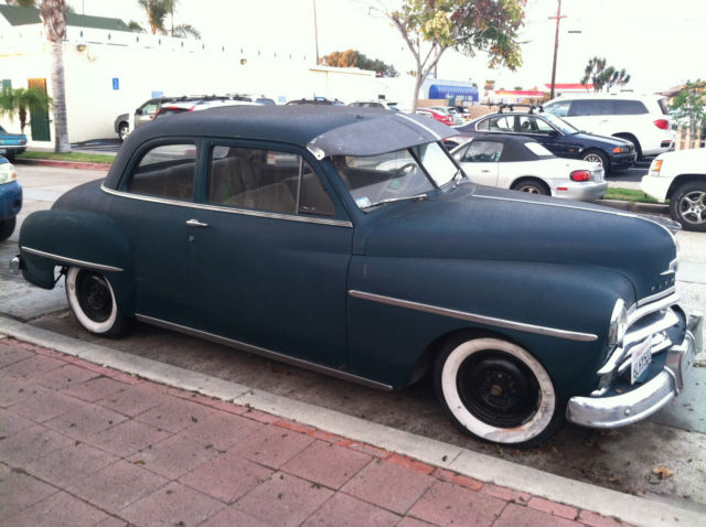 1950 Plymouth Other Deluxe